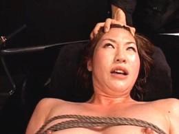 女捜査官が媚薬漬けにされ2穴同時責めで大量潮吹き激痙攣オーガズム!吉田遼子