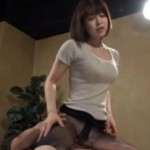 巨乳お姉さんの黒パンストがエロい!04+