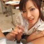 エロ女教師が生徒の童貞チンポでヒクヒク痙攣![鮎川なお]01