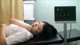 婦人科診察でJKが中出しヒクヒク痙攣!10