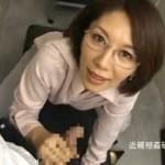 メガネ熟女がお尻をヒクヒク[翔田千里]02