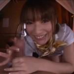 巨乳でアニメ声のお姉さんがガクガク痙攣しまくりで潮吹きアクメ!04