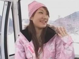 スキー場で女の子とチューチュートレインしたい!02