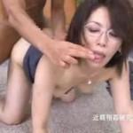 メガネ熟女がお尻をヒクヒク[翔田千里]03