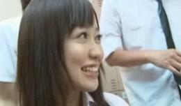 巨乳の美少女JKが教室で担任教師とエッチしてヒクヒク痙攣!02