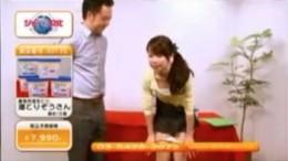 通販番組で女子アナが潮吹き痙攣!01