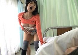 彼氏の見舞いにやってきた美女達が隣の患者の勃起肉棒に発情して寝取られ痙攣アクメ!篠田ゆう他3名03