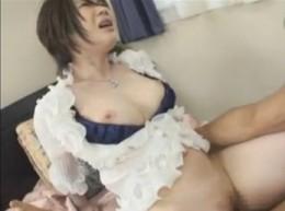 普通のおばさんが巨乳揺らしてヒクヒク痙攣!01