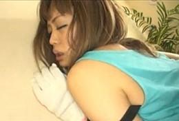 「妊娠してるから中に出して〜」発情した兄嫁が義弟に寝取られ状況で中出しされガクガク痙攣!澄川ロア02