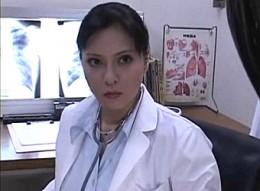巨根フタナリ熟女医師が患者を手コキフェラ抜きで連続射精させてビクビク痙攣アクメ!