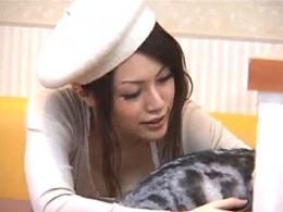 猫カフェで美女がガン突きレイプ被害!高速手マンで潮吹き足ガク痙攣!声が出せない程に犯される!0