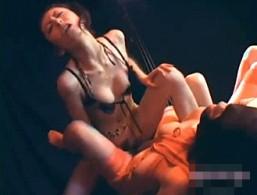 ドS女王様が性奴隷に突っ込んだ両頭ディルドでビクビク痙攣オーガズム!乃亜02