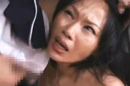 美人妻がレイプ常習犯に自宅で犯され中出しヒクヒク痙攣!桜井あみ02