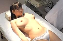 爆乳ギャルが婦人科診察で悪徳医師の巨根でガン突きされ連続ビクビク痙攣イキ!0