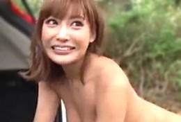 明日花キララと青姦エッチ!01