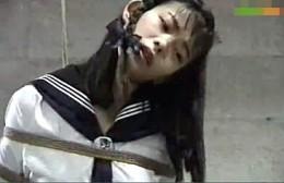 変態美人JKが卑猥オナニー!調教師レズのペニバンでビクビク痙攣アクメ!野村理沙02