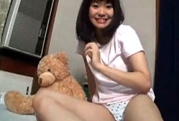 美少女JKが自撮りオナニーでマン屁連発で足ガク痙攣逝き!立花くるみ2
