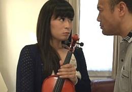 中年オヤジ好きの美人バイオリニストが絶叫痙攣アクメ!姫乃えみり02