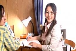 変態家庭教師は生徒の部屋でディルドオナニーして潮吹き痙攣アクメ!02