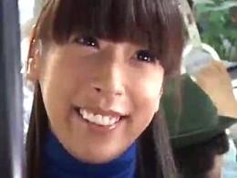 上京したばかりの美人お姉さんがバスの中で発情してアヘアヘ!若菜02