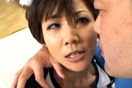 黒乳首の欲求不満人妻がガン突きされビクビク痙攣ヨガリ鳴き!日和香澄02