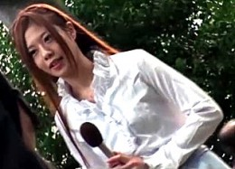 施術師のゴッドハンドで発情する美人女子アナが激痙攣!相沢恋02