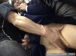 制服姿のツインテールJKが満員電車で快楽堕ちの大量潮吹きガクガク痙攣3