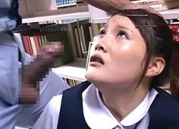 ウブな制服JKが図書館で高速ピストンされ大量ハメ潮吹き足ガク痙攣!早坂愛梨