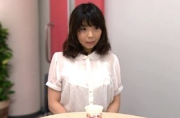 地味顔の人妻がAV面接でデカ乳輪の卑猥なFカップ巨乳を揺らしヒクヒク痙攣!愛田千紘
