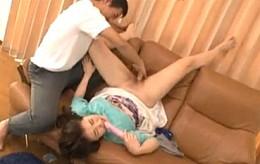 媚薬バイブ漬けにされた女子大生の家政婦が痙攣イキまくりオナニーエビ反り痙攣!