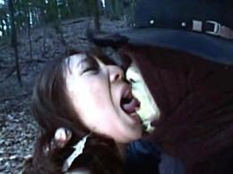 触手人間の長い肉棒にビクビク痙攣して快楽堕ちする美女!ayami