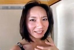 四十路社長夫人が浮気温泉旅行で真っ赤な顔して絶叫ガクガク激痙攣アクメ!萩原亜紀2