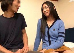 家庭教師の美人女子大生が童貞生徒の筆下ろし!北川美緒
