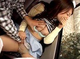 巨乳女子大生が東京観光で陵辱魔に付け回され連続潮吹き痙攣!石倉えいみ