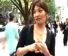 表参道のオシャレ人妻がナンパ師の強引なハードファック顔射3連発に悶絶!