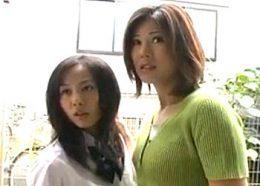 再婚相手と娘の前で寝取られ汚される長身の母親!藤沢未央