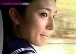 中年教師に夢中になる美人JKがラブホでビクビク痙攣イキ!秋元美穂