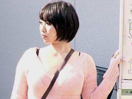 爆乳の女子大生が満員バスで凌辱され潮吹き腰砕け!前田優希