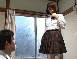 ヤリマンJKが担任教師を誘惑して3Pエッチでガクガク痙攣イキまくり!橋下まこ・夢野りんか