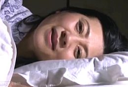 高齢熟女教師が閉経マンコに精液を流し込まれビクビク痙攣!吉永静子