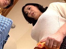 子宮直撃の馬並み巨根でイキ狂うIカップ爆乳の豊満熟女!寺島志保