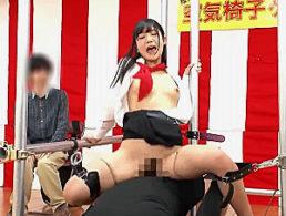 美人女子大安生が空気椅子ゲームで耐えきれず彼氏の前で寝取られ潮吹き痙攣イカされまくる!星奈あい