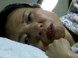 旦那の入院中に義父に夜這いされ中出し痙攣する熟妻!大沢萌