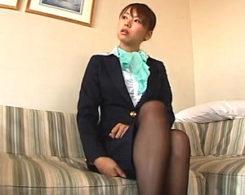 美人CAが高飛車なプライドをズタズタにされドM覚醒!喉奥・膣奥を容赦なく拡張され電マ丸呑み!亜希菜