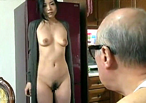 妖艶な熟女人妻が七十路の夫の祖父に抱かれビクビク痙攣イキ!天野小雪