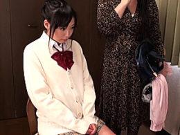 ムチムチ巨乳JKが保健室の先生に騙され中出しエッチでビクビク痙攣!早乙女らぶ・前田陽菜