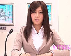 地方局の女子アナがスタッフを痴女って中出しエビ反り痙攣!小泉ミツカ
