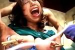 ドM公開調教で羞恥心を刺激されアヘ顔大絶叫イカされまくる巨乳熟女!ザーメン・オシッコぶかっけも!松浦ユキ