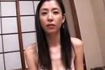 背中の綺麗なスレンダー美熟女がハメ撮りで色っぽく喘ぐ!吉野碧